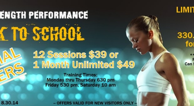 """Back to School """"Special Fit"""" Offers- Massillon, OH"""