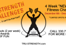 """4 Week """"New You"""" Fitness Challenge- Massillon CrossFit / TSPC"""