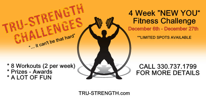 "4 Week ""New You"" Fitness Challenge- Massillon CrossFit / TSPC"