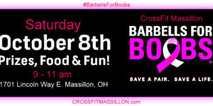 Barbells for Boobs- Charity Event